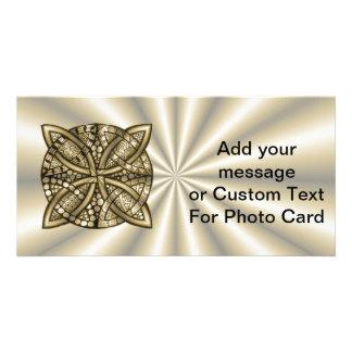 Gold Celtic Knot Original Artistic Design Card