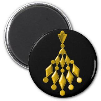 Gold chandelier magnet