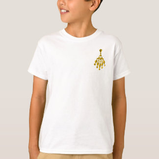 Gold chandelier T-Shirt