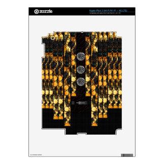 Gold Cheetah Bling iPad 3 Decal