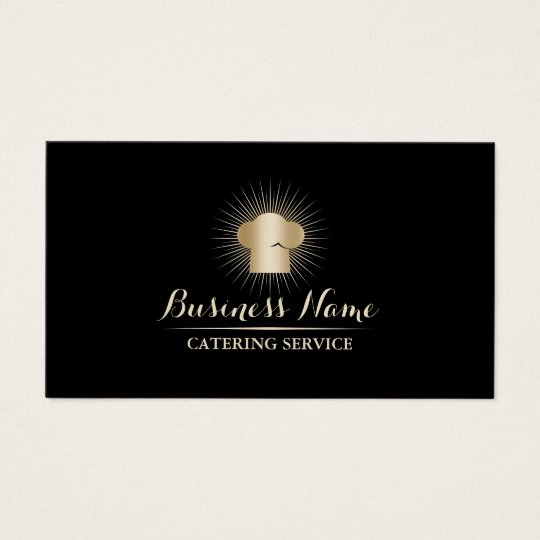 Gold chef hat personal chef catering service business card zazzle gold chef hat personal chef catering service business card colourmoves