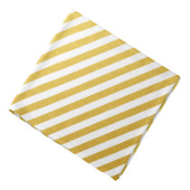 Gold chevron bandana