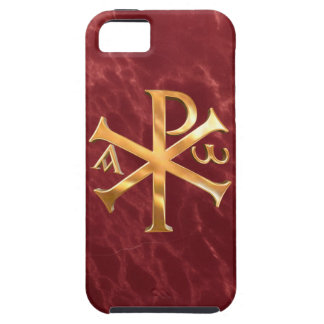 Gold Chi-Rho iPhone SE/5/5s Case