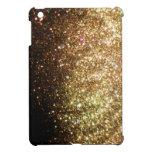 Gold Christmas Glitter Print Sparkle iPad Mini Case For The iPad Mini
