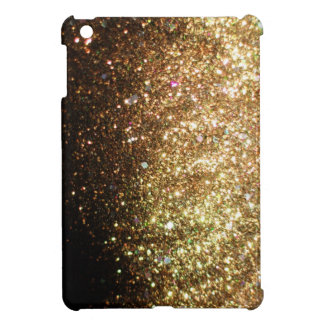 Gold Christmas Glitter Print Sparkle iPad Mini iPad Mini Case