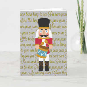 The Little Drummer Boy Cards Zazzle