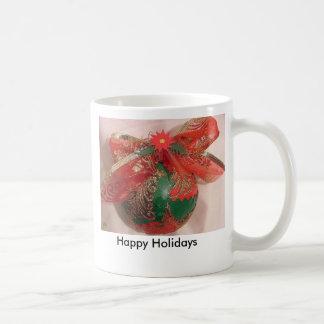 Gold Christmas Tree Mug