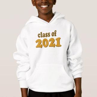 Gold Class of 2021 sweatshirt