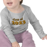 Gold Class of 2023 T-shirts