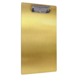Gold Clipboard