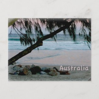 Gold Coast, Australia postcard