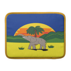 Gold Coast Elephant Palm Tree Macbook Air 13