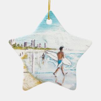 Gold Coast Lifestyle Ceramic Ornament