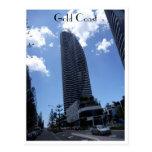 gold coast skyscraper post card