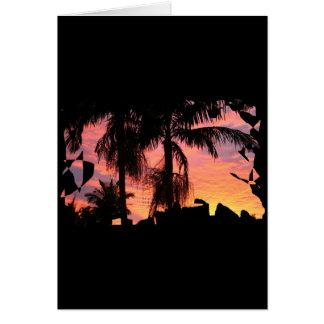 Gold Coast Surise Card