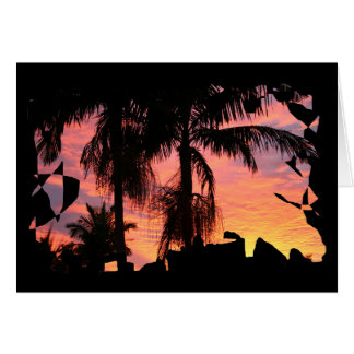 Gold Coast Surise Greeting Card