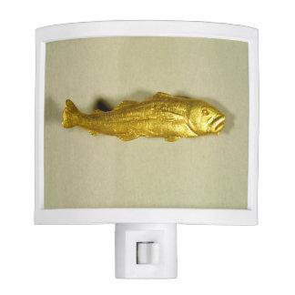 Gold Codfish Nightlight
