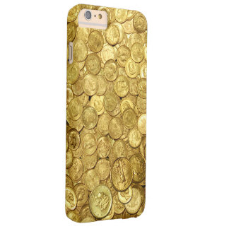 Gold Coin Collection Barely There iPhone 6 Plus Case