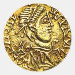 Gold Coin Reward Stickers