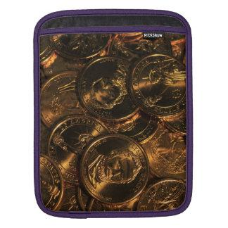 GOLD COINS 2 iPad SLEEVE