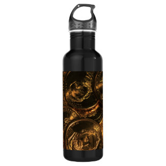GOLD COINS 2 STAINLESS STEEL WATER BOTTLE