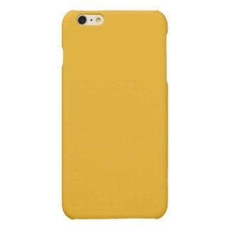 Gold Color Matte iPhone 6 Plus Case
