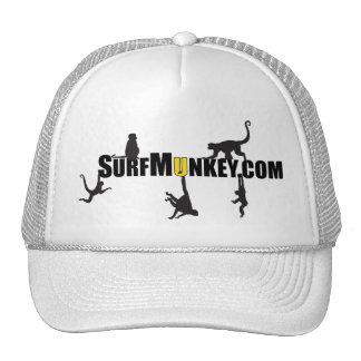 """Gold color """"U"""" in Hanging Munkeys design Trucker Hat"""