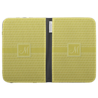 Gold Colored 3D cubes cascading Cases For Kindle