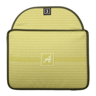 Gold Colored 3D cubes cascading Sleeves For MacBooks
