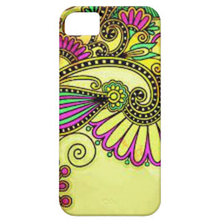Gold/Colorlful Barely There iPhone 5/5S Case
