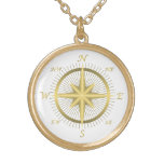 Gold Compass Jewelry