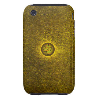 Gold Concrete Creations iPhone 3 Tough Cover