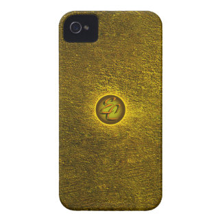 Gold Concrete Creations iPhone 4 Cover