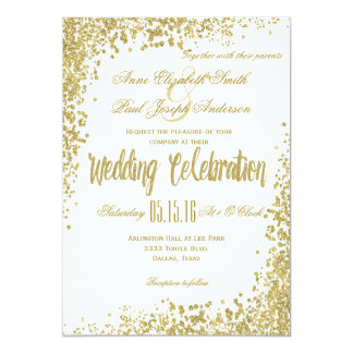 Wedding cheap invitations announcements zazzle for Inexpensive glitter wedding invitations