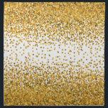 """Gold Confetti Napkin<br><div class=""""desc"""">Gold Confetti</div>"""