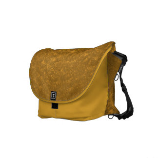 gold courier bag