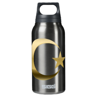 GOLD CRESCENT 3D INSULATED WATER BOTTLE