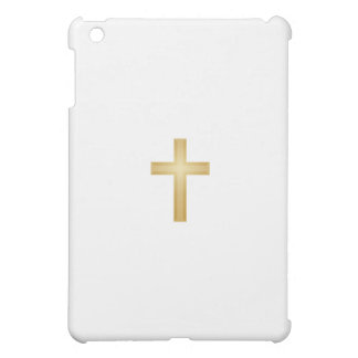 Gold Cross/Easter iPad Mini Cover