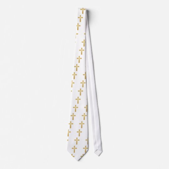 Gold Cross/Easter Tie