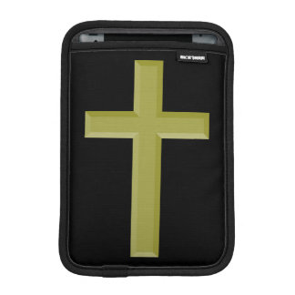 Gold Cross iPad Mini Sleeves