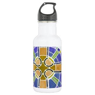 gold cross water bottle