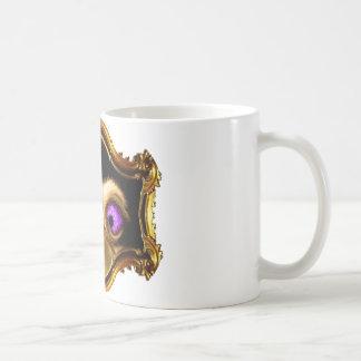 Gold Crossed Ostrich Mug