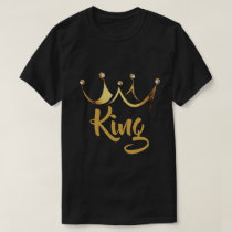 Gold Crown King T-Shirt