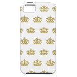 Gold Crown pattern Apple Iphone case iPhone 5 Cases