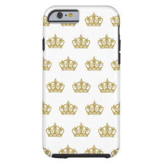 Gold Crown pattern iPhone 6 case