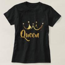 Gold Crown Queen T-Shirt