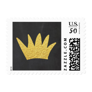 Gold crown Stamps Wild one Wild things rustic
