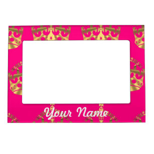 Pink Gold Picture Frames Zazzle