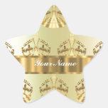 Gold crowns sticker