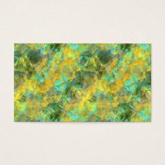 Gold Crumpled Texture Business Card